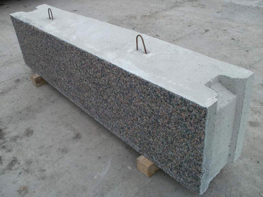 Фундаментные блоки в Виннице. Фото блока