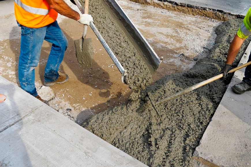 Строительный бетон (фото)